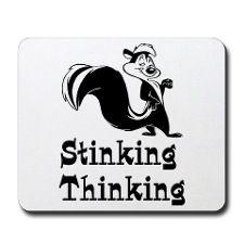 sticking thinking