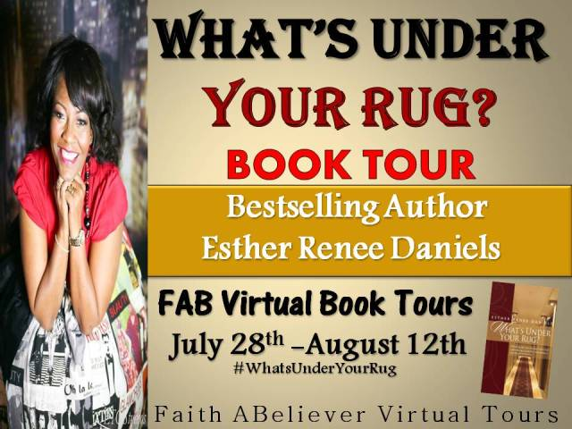 Follow my Virtual Book Tour…Great things are happening for #WhatsUnderYourRug#FABVTours =>