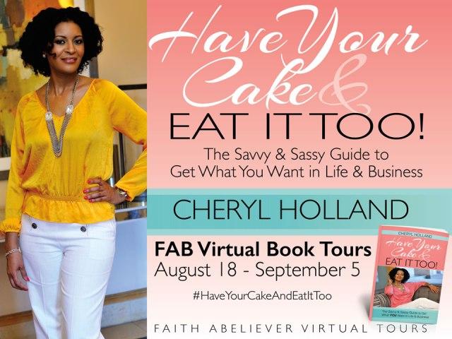 Cheryl Holland FAB Book Banner