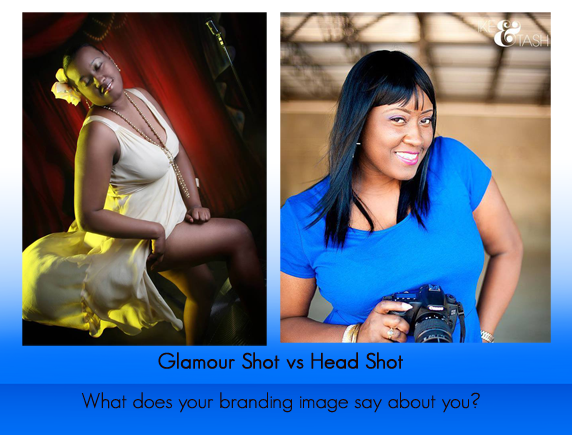Glamour vs head shot