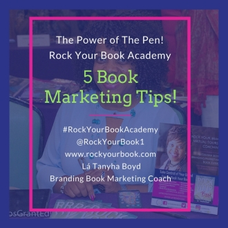 RYB ACADEMY 5 book marketing tips